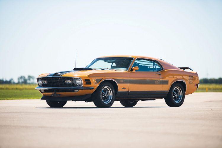 Mustang Boss Front 3/4