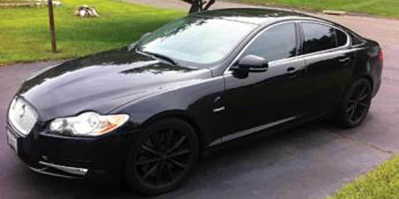 Nick Bonino Jaguar XFR