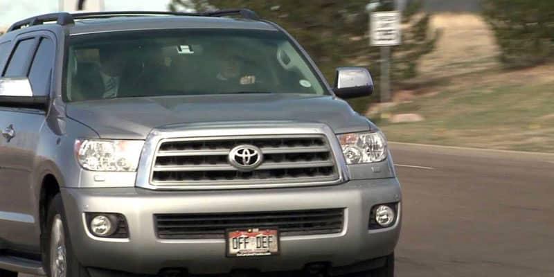 Peyton Manning Toyota Sequoia