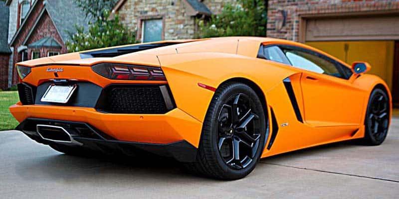 Russell Westbrook Lamborghini Aventador