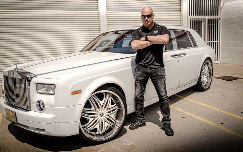 Tito Ortiz Rolls Royce Phantom