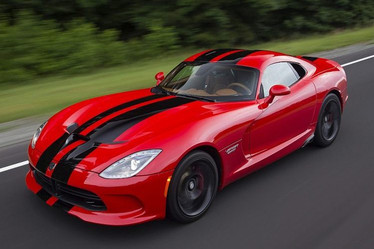 Dodge Viper Front 3/4 Elevated