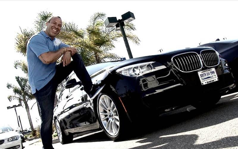 Wanderlei Silva BMW 750li