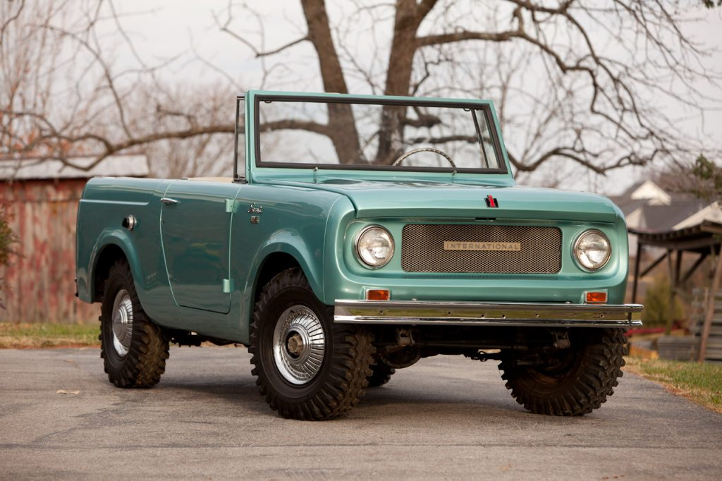 10 International Scout 80 convertible
