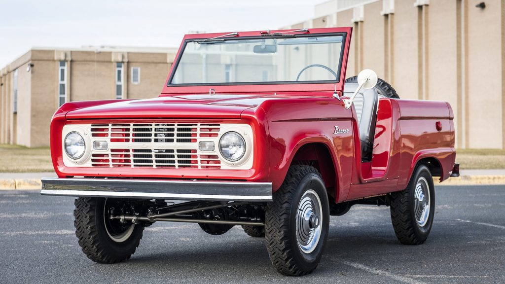11 Ford Bronco Original 1st Gen convertible SUV