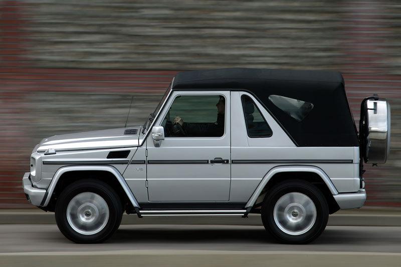 17 Mercedes G350 convertible