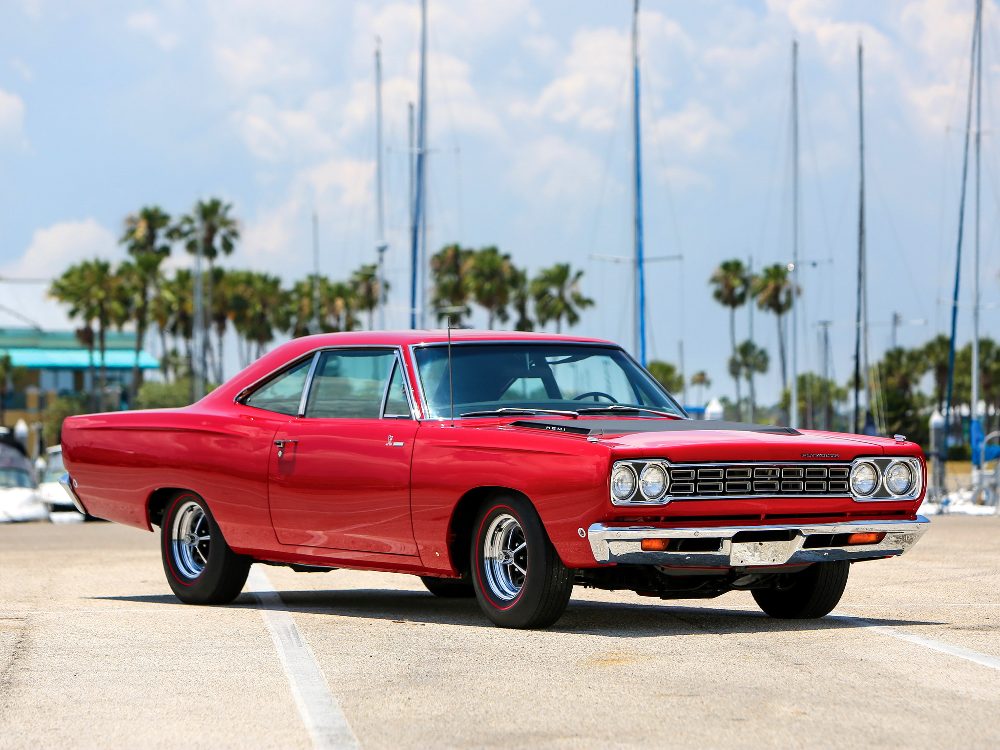 If you list hot cars, you have to mention the Hemi Road Runner