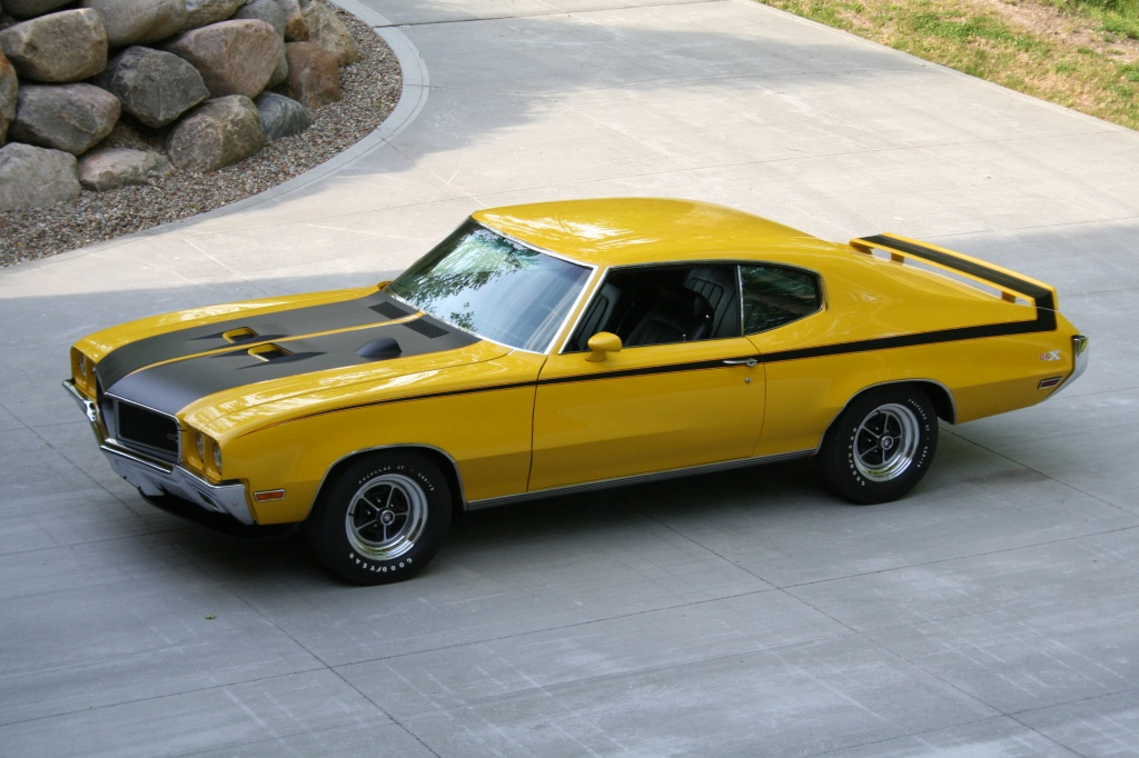 The 1970 Buick GSX Stage 1 is one of a few Buick hot cars.