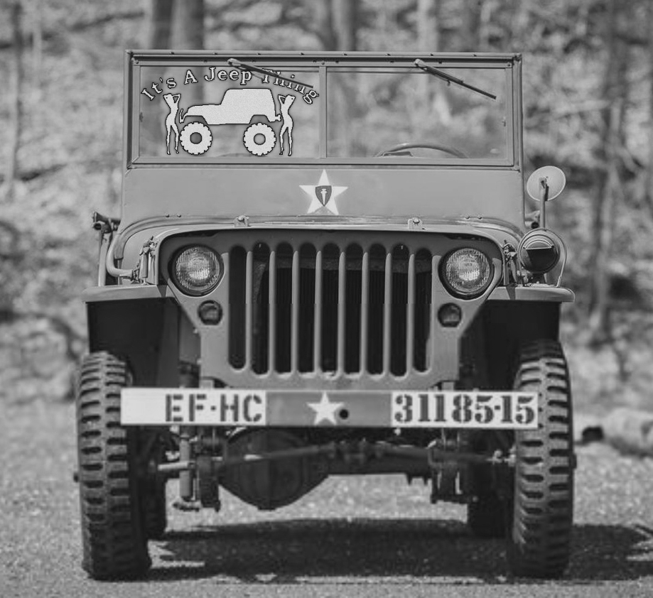 2 Jeep thing Willys Jeep