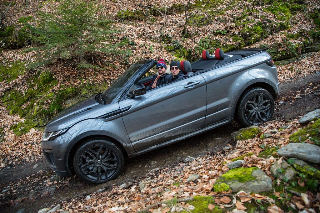 20 evoque convertible SUVs