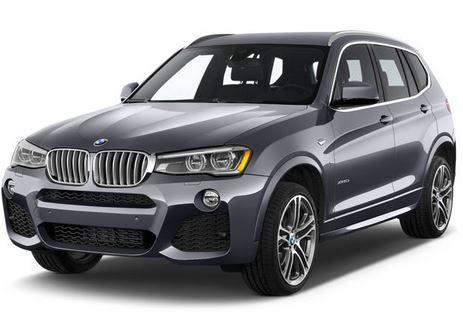 BMW X3 Front 3/4