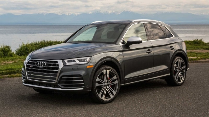 2018 Audi SQ5 - left front view