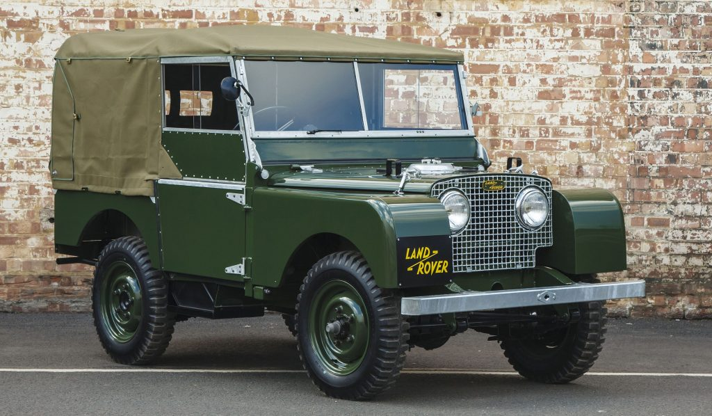 5 Land Rover Series 1