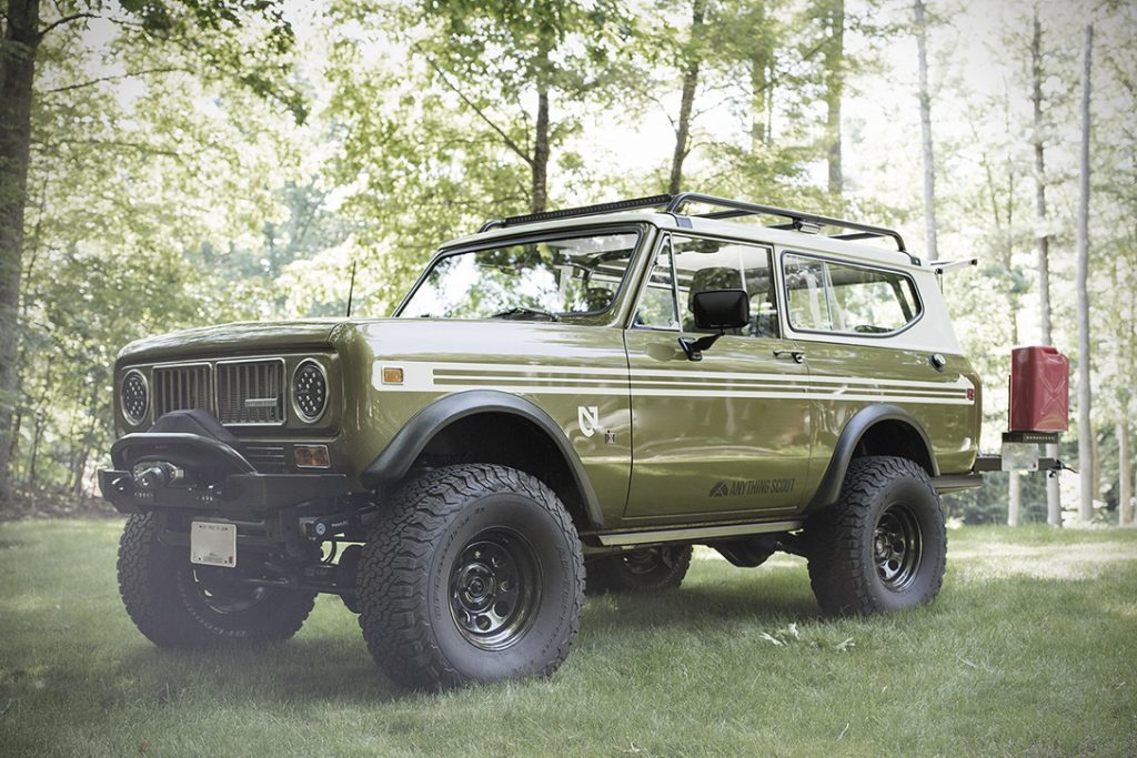 9 International Harvester Scout Convertible SUV