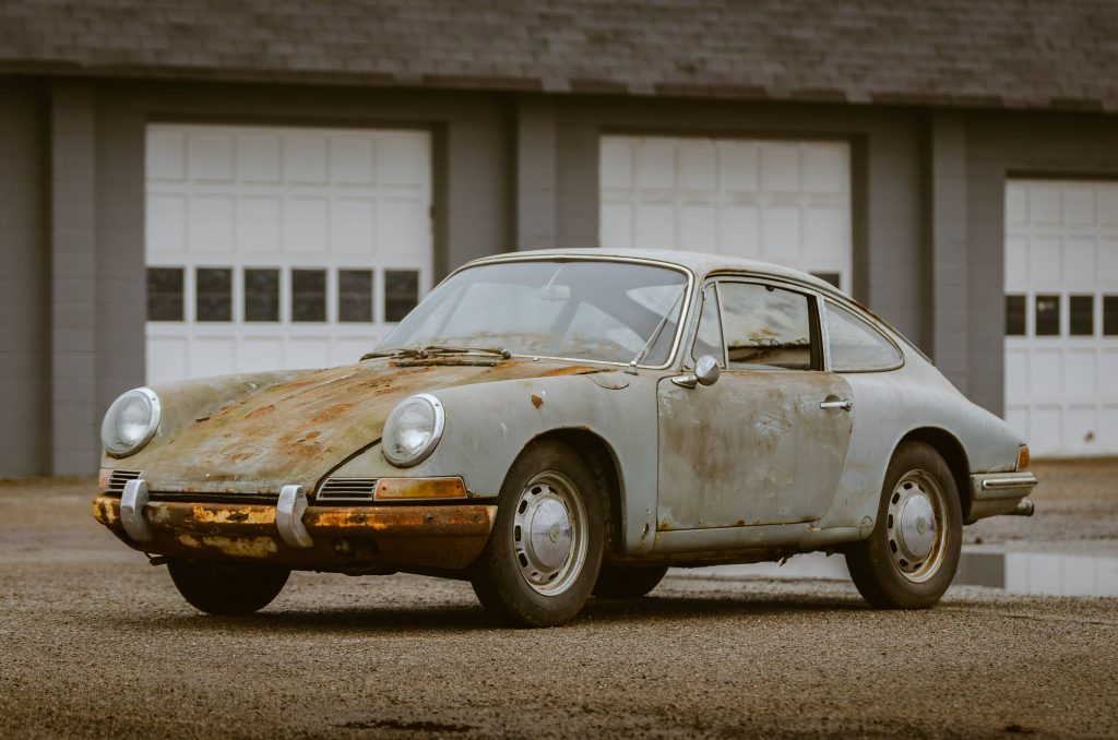 Porsche Barn Find - Car Restoration Projects