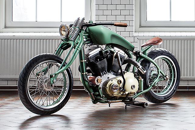 Custom Harleys - Sporganic