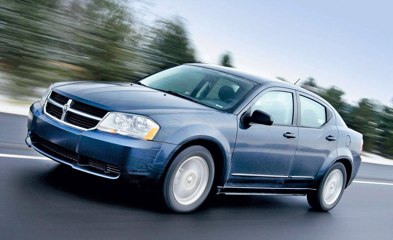 One of the cars under 5000 is the Dodge Avenger
