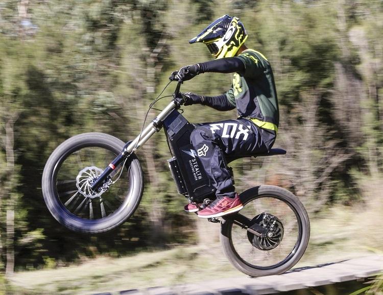 Off-road Stealth Electric Dirt Bike