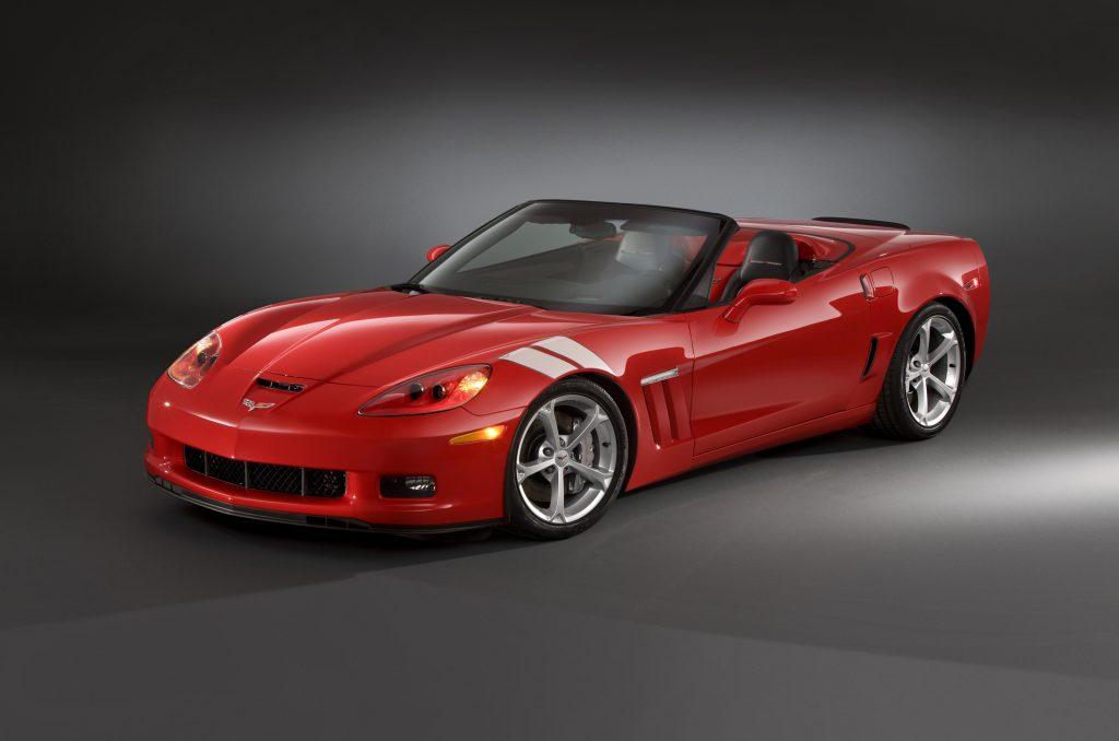 Corvette Grand Sport Front 3/4 - Crazy Cheap Cars