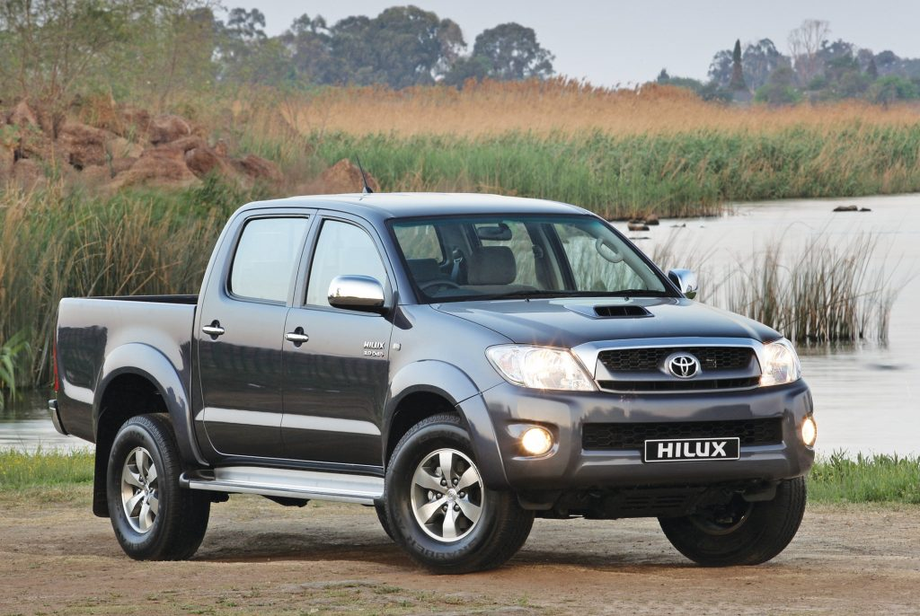 Toyota Hilux Front 3/4 - Best Real Truck