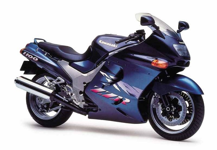 Best Kawasaki Ninja Models - ZX-11R ZZ-R1100