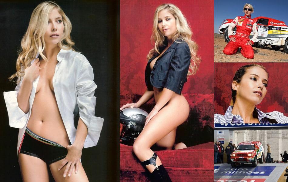Madalena Antas hot car girls compilation