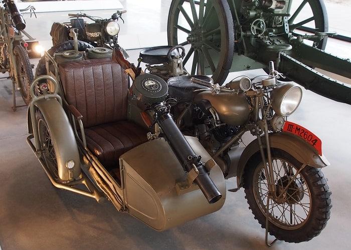 WW2 Motorcycle Sidecar - BSA G14