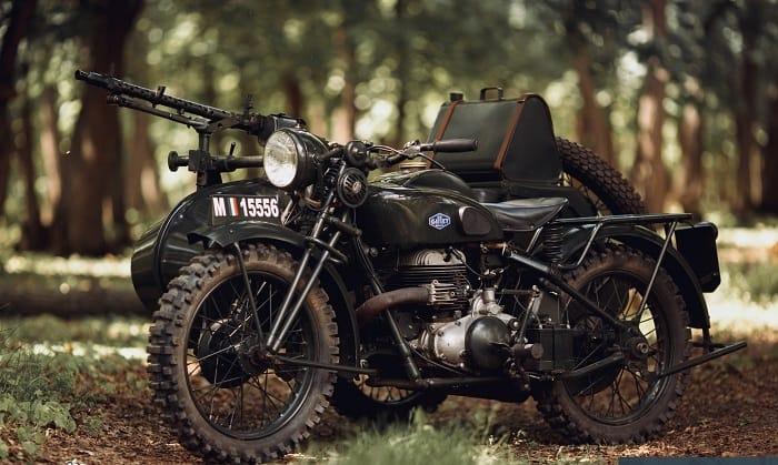 WW2 Motorcycle Sidecar - Gillet Herstal 720 AF