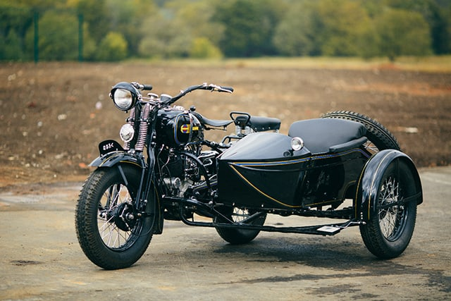 WW2 Motorcycle Sidecar - Kurogane Type 95