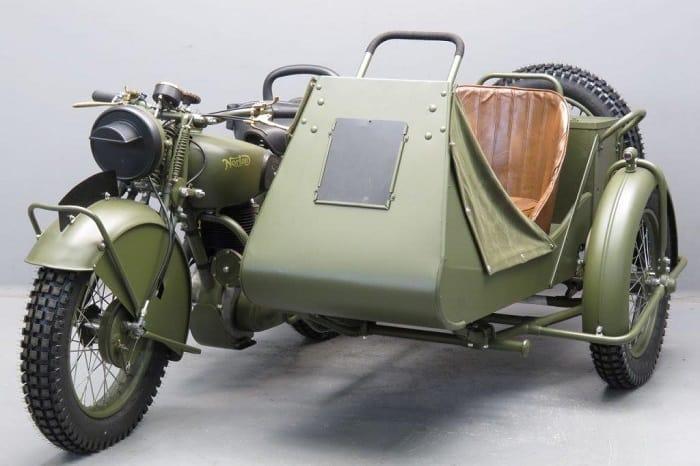WW2 Motorcycle Sidecar - Norton Big Four 633