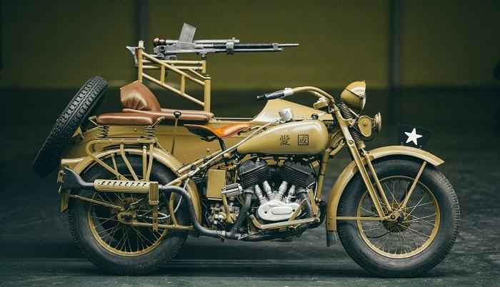WW2 Motorcycle Sidecar - Rikuo Type 97