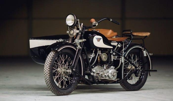 WW2 Motorcycle Sidecar - Sokol