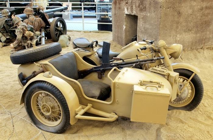 WW2 Motorcycle Sidecar - Zündapp KS 750