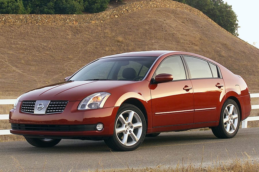 Nissan Maxima Front 3/4 - Used Cars Under 2000