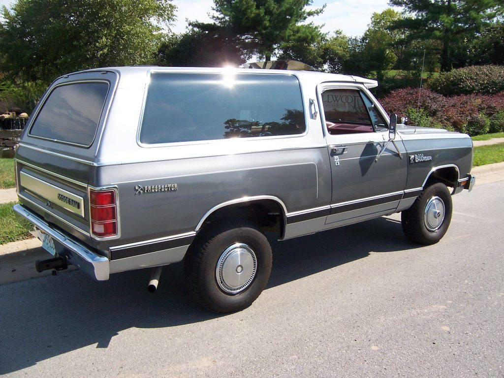 Dodge Ramcharger Rear 3/4