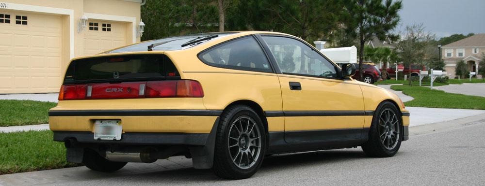 CRX Si rear 3/4