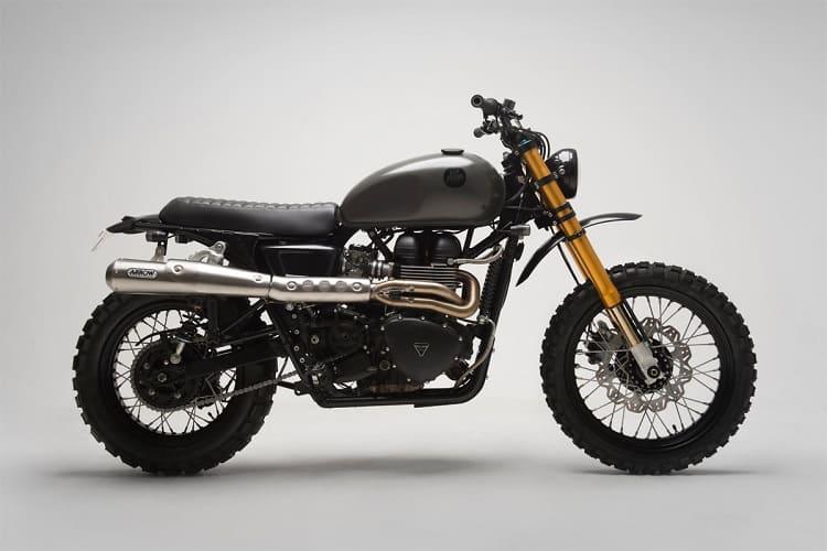 Scrambler Motorcycle - Bonneville Custom