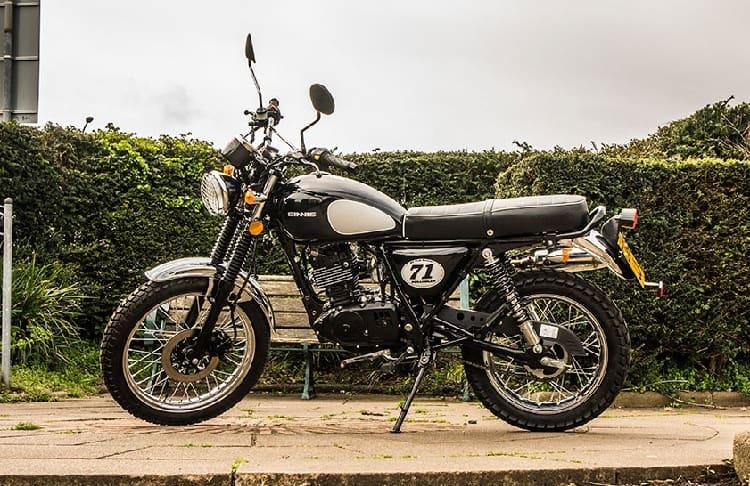 Scrambler Motorcycle - Sinnis Scrambler 125