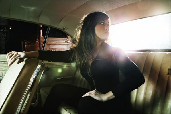 Hot car girls look best in the backseat.