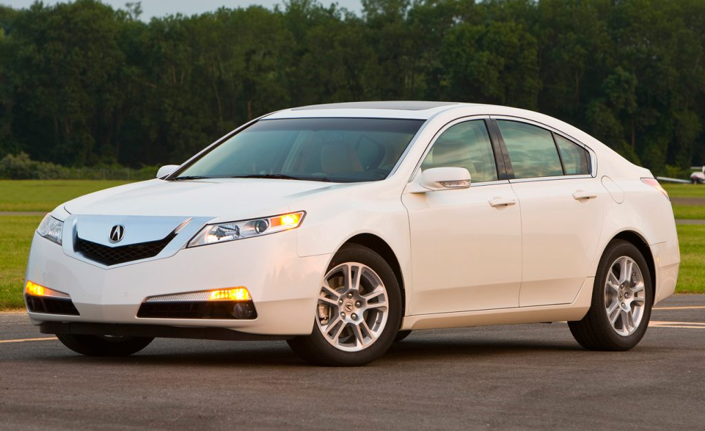 Acura TL Front 3/4