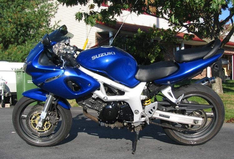 Cheap Track Motorcycle - 2000 Suzuki SV650S