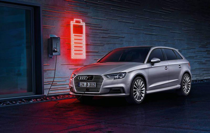 Best Hatchbacks 2019 - Audi A3 Sportback e-tron 3/4 view