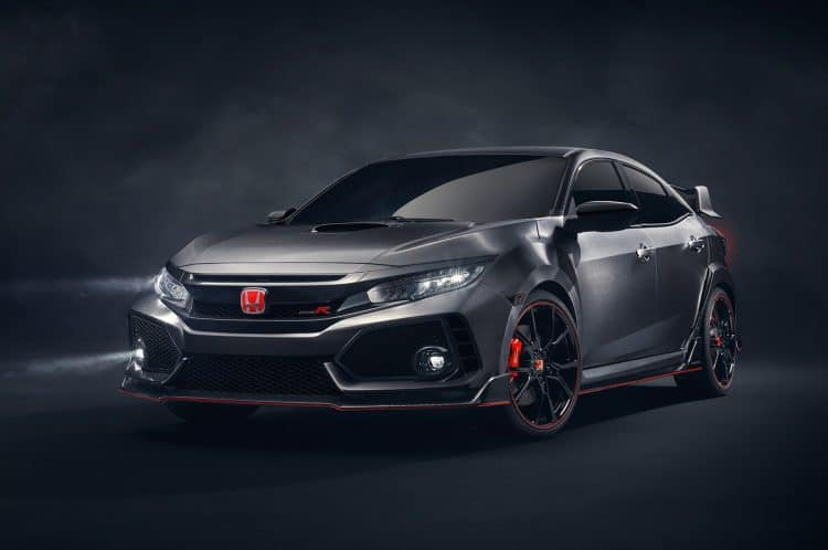 Best Small Cars 2019 - Honda Civic Type R front 3/4 view