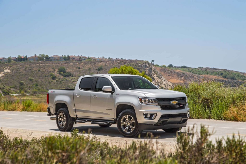 Best 2019 Trucks - Chevrolet Colorado 3/4 view