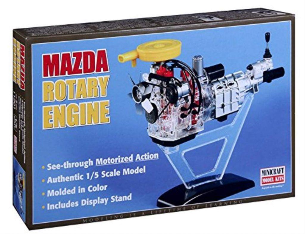 Minicraft models Visible Rotary engine Mini Engine Kit