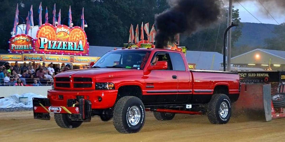 off road diesel truck