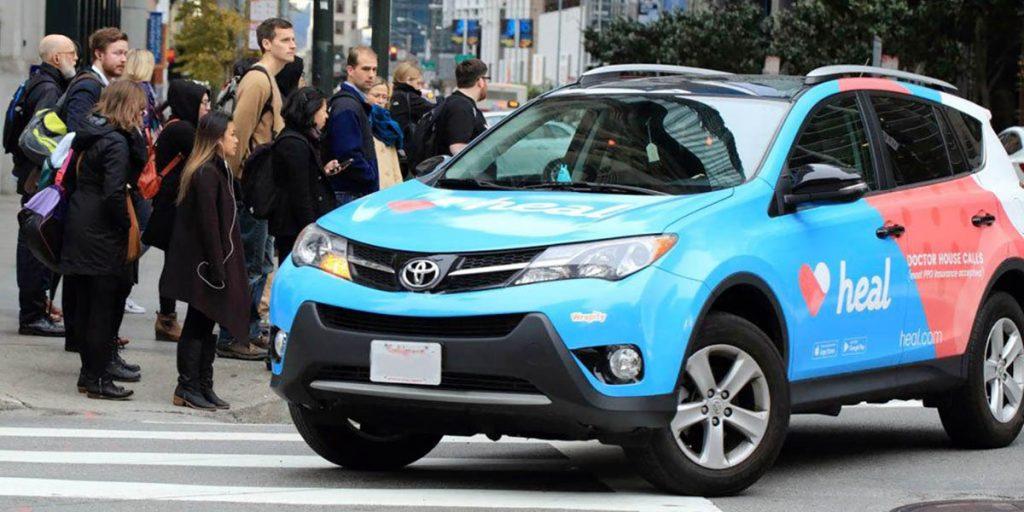 Vehicle advertising driving jobs