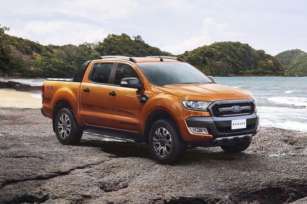 Best 2019 Trucks - Ford Ranger 3/4 view