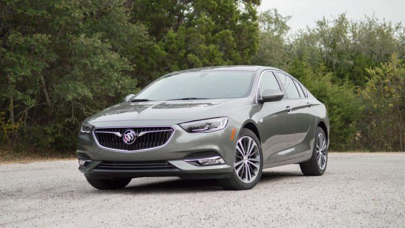 Best Hatchbacks 2019 - Buick Regal Sportback front 3/4 view