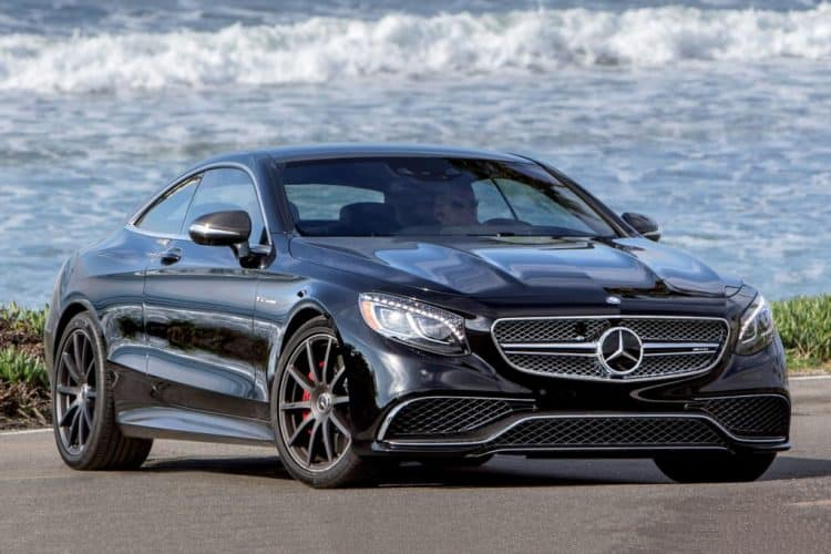 New Model Luxury Cars 2019 - 2019 Mercedes-Benz S Class Coupe front 3/4 view